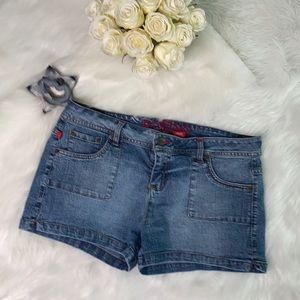 Bongo Jean Denim Short Shorts Juniors 15